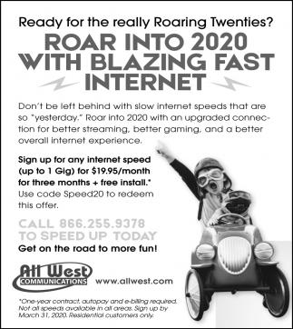 Roar Into 2020