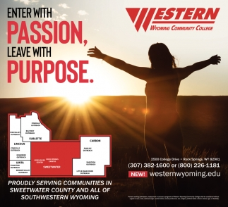 Enter With Passion, Leave with Purpose