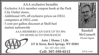 AAA Exclusive Benefits