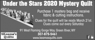 Under the Stars 2020 Mystery Quilt
