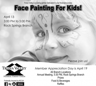 Face Painting For Kids!