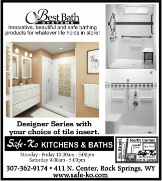 Designer Series with your choice of tile insert