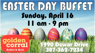Easter Day Buffet