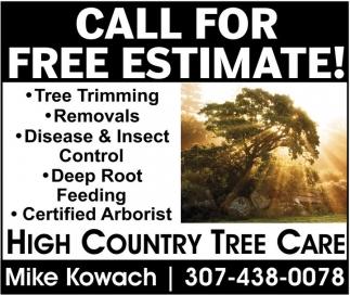 Call For Free Estimate!
