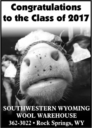Congratulations to the Class of 2017